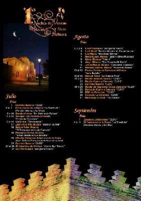 V Noches de Verano en la Buhaira 2013