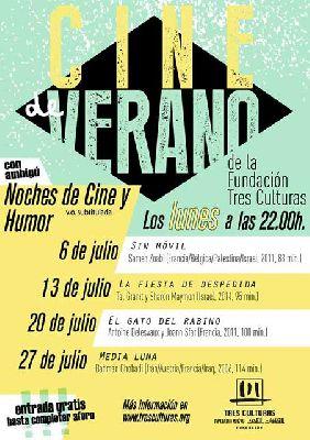Cine de verano Fundación Tres Culturas Sevilla 2015