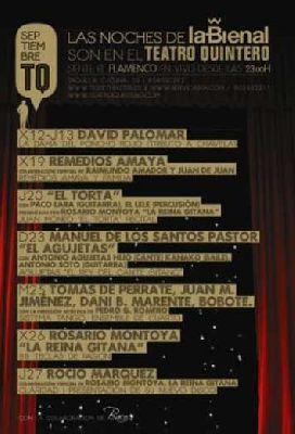 Las Noches de La Bienal en el Teatro Quintero