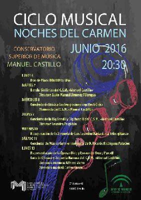 Noches del Carmen 2016 en el CSM Manuel Castillo de Sevilla