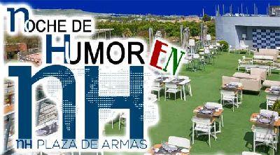 Noche de Humor en el Hotel NH Plaza de Armas de Sevilla 2018