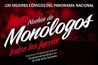 Noches de Monólogos en Fanatic Sevilla (abril 2014)