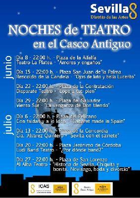 Noches de Teatro en el Casco Antiguo de Sevilla 2013