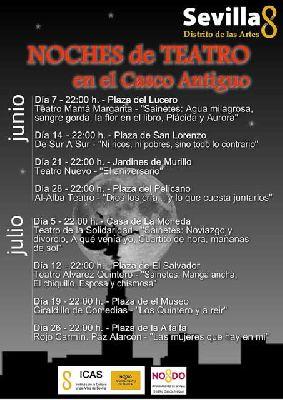 Noches de Teatro en el Casco Antiguo de Sevilla 2014