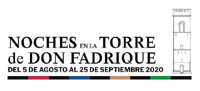 Cartel del ciclo Noches en la Torre de Don Fadrique de Sevilla 2020