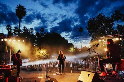 Carmen Boza, foto promocional del concierto Irreductibles. Nocturama 2005-2020