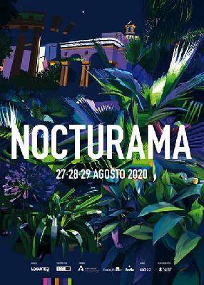 Cartel de Nocturama Sevilla 2020 por Antonio Barahona