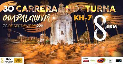 XXX Carrera Nocturna del Guadalquivir 2018 en Sevilla