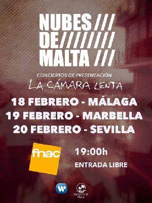 Concierto: Nubes de Malta en Fnac Sevilla
