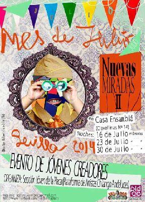 Recitales Nuevas Miradas 2 en La Casa Ensamblá de Sevilla