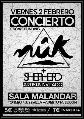 Concierto: Nûk y Shepherd en Malandar Sevilla (febrero 2018)