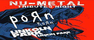 Cartel del concierto Nu Metal tributos (Korn y Linkin Park)
