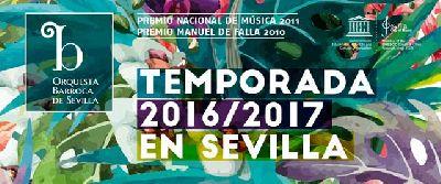 Concierto: Aci, Galatea e Polifemo, 8º Orquesta Barroca de Sevilla 2016-2017