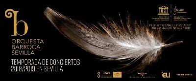 Cartel de la temporada 2018-2019 de la Orquesta Barroca de Sevilla