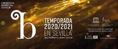 Cartel de la temporada 2020-2021 de la Orquesta Barroca de Sevilla