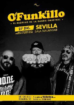 Concierto: Ofunkilllo en Malandar Sevilla 2017