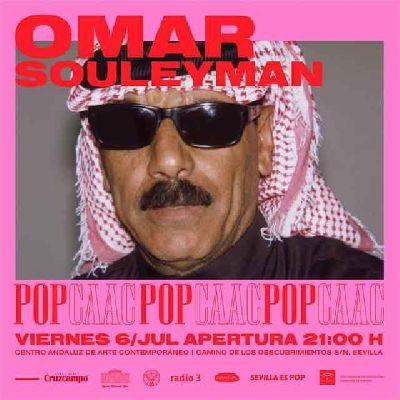 Concierto: Omar Souleyman en Pop CAAC Sevilla 2018