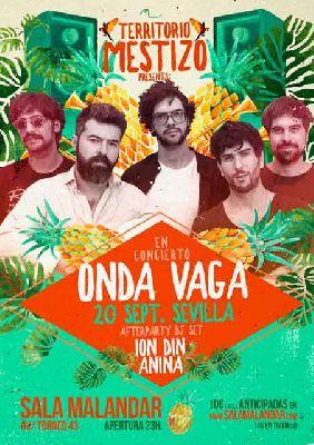 Concierto: Onda Vaga en Malandar Sevilla 2018