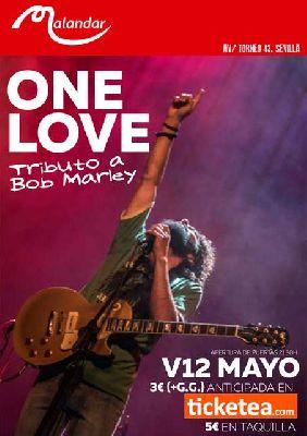 Concierto: One love (tributo a Bob Marley) en Malandar Sevilla