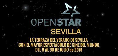 Cine OpenStar en el Muelle de las Delicias de Sevilla