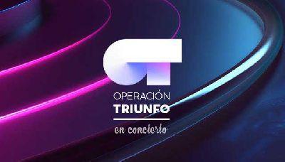 Cartel del concierto de Operación Triunfo