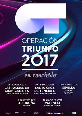 Concierto: Operación Triunfo en Sevilla 2018