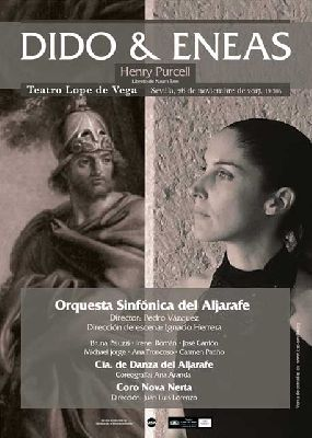 Ópera: Dido y Eneas en el Teatro Lope de Vega de Sevilla 2017