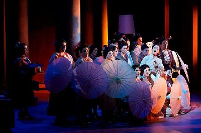 Foto promocional de la ópera Madama Butterfly