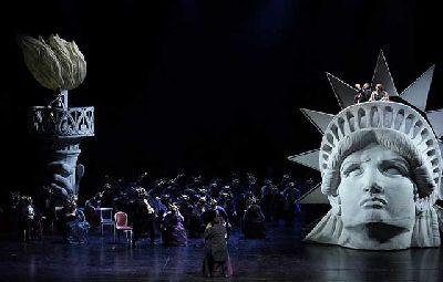 Foto promocional de la ópera Un ballo in maschera