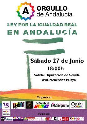 Marcha del orgullo gay en Sevilla 2015