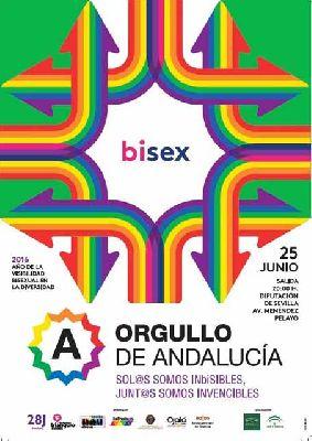 Marcha del orgullo gay en Sevilla 2016
