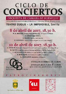 Conciertos de la Orquesta de Cámara de Bormujos en La Imperdible de Sevilla