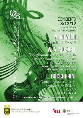 Concierto: Orquesta de Cámara de Bormujos en la iglesia de San Alberto de Sevilla