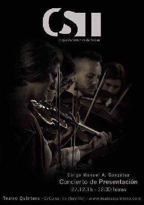Concierto: Orquesta Sinfónica de Triana en el Teatro Quintero de Sevilla