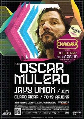 Concierto: Oscar Mulero en Sala Casino Sevilla