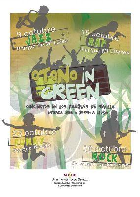Conciertos: Otoño in Green Sevilla 2015