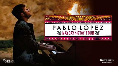 Cartel de la gira Mayday & Stay Tour de Pablo López