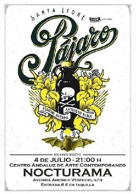 Concierto: Pájaro y Lobison en Nocturama Sevilla 2013