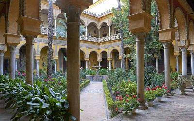 Palacio de la Casa de Las Dueñas de Sevilla