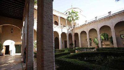 Foto del interior del Centro del Mudéjar del Palacio de los Marqueses de la Algaba de Sevilla