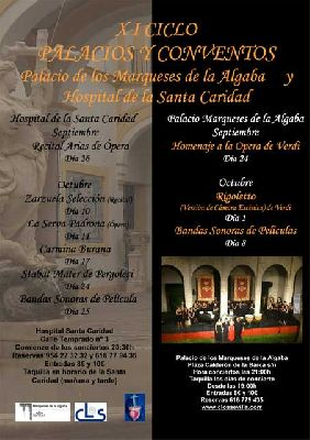 XI ciclo de Música en Palacios y Conventos Sevilla (octubre 2014)
