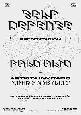 Cartel del concierto de Palo Alto y Future Ark en la Sala Even Sevilla 2020