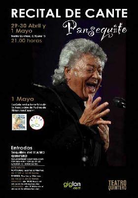 Flamenco: Pansequito en el Teatro Quintero de Sevilla