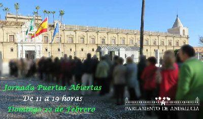 Visitas al Parlamento por el Día de Andalucía 2015
