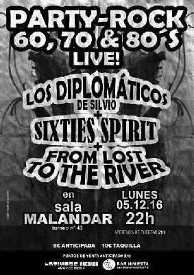 Concierto: Party Rock en Malandar Sevilla