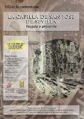 Conferencias: Pasado y presente de la Capilla de San José Sevilla