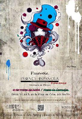Pasarela Essence Española en el Museo de Carruajes de Sevilla