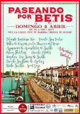 Paseando por Betis en el Barrio de Triana de Sevilla