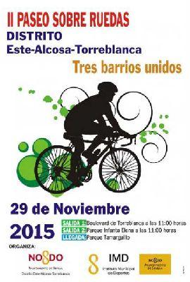 II Paseo sobre ruedas Distrito Este de Sevilla (noviembre 2015)