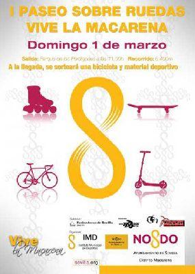 I Paseo sobre ruedas Vive la Macarena Sevilla